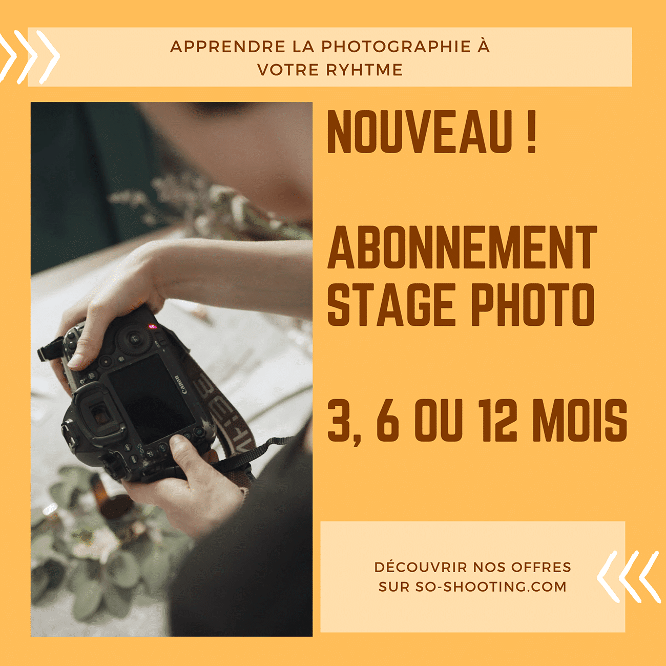 so shooting stage photo abonnement