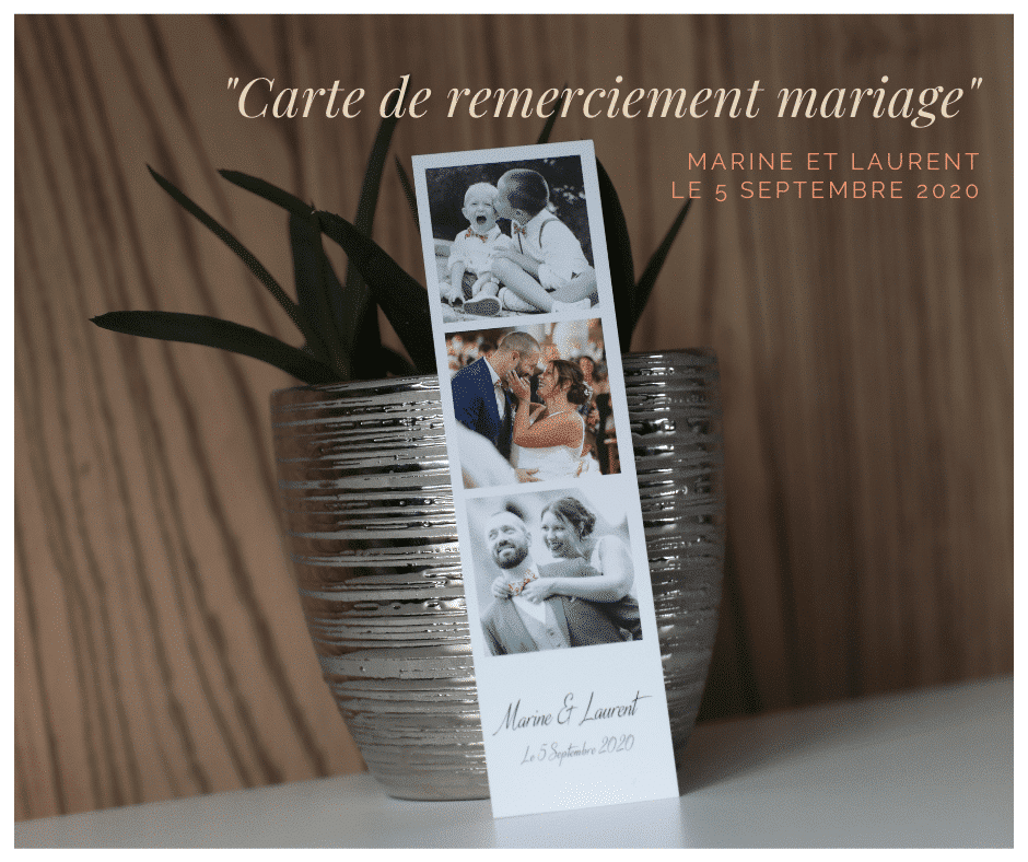 so shooting impression carte de remerciement mariage st omer
